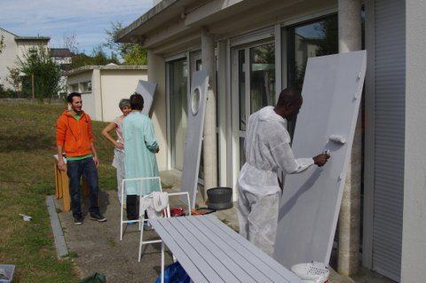 Au foyer Albert-Camus, des bénévoles relèvent leurs manches
