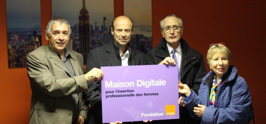 Orange soutien «La Maison Digitale»