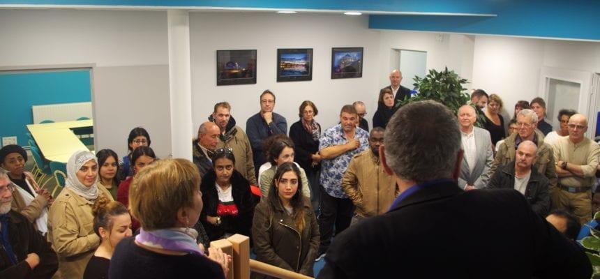 Inauguration au siège : une extension en rez-de-jardin