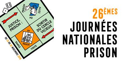 Journées nationales Prison à Tours :  une conférence et un film
