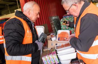 Banque alimentaire : une collecte plus importante que jamais